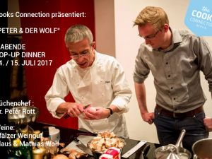 PETER & DER WOLF / POP-UP DINNER AN 2 ABENDEN